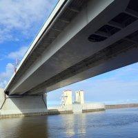 СПБ защита от наводнений. Мост :: Андрей Ягодко