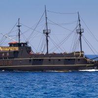 Пиратский корабль. :: Алексей. Бордовский