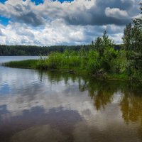 Небо в озере :: Наталья Лакомова