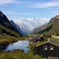 Норвежская деревня :: Александр Чазов
