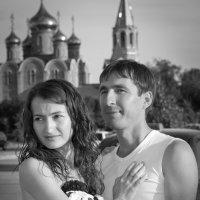 Перед свадьбой_Сергей и Снежанна :: Vladimir Beloglazov
