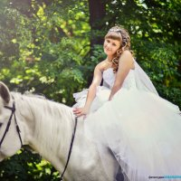 Невеста на коне :: марина алексеева