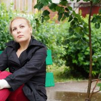 на скамейке... :: Ильназ Фархутдинов