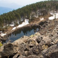 Озеро на высоте 1600м :: Даниил Гаврилюк