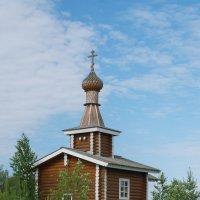 Деревенская часовня :: Екатерина Голубкова