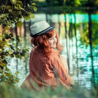 У озера на опушке леса :: Ирина Митрофанова студия Мона Лиза