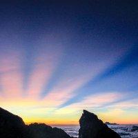 Рассвет на высоте 3142 метра :: Катрин Кот