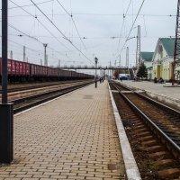 Ж.Д. Вокзал Красный Лиман. :: Анатолий Бахтин