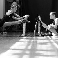 гимнастика , разминка . :: Геннадий Коврижин