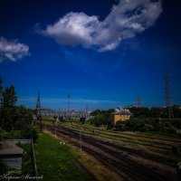 Железная дорога :: Ирина Мильчик