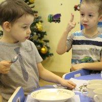 Детский сад. Стол для завтрака :: Екатерина Смирнова