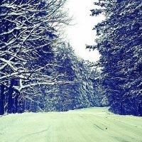 зимняя дорога :: Марика Павлиди