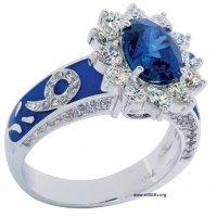 кольцо с голубым сапфиром :: Alexander SEE