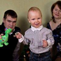 Папа, мама, я - дружная семья! :: Сергей Яхонтов