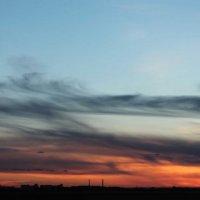 Закат над Нижнем :: Андрей Кравец