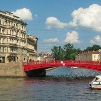 Красный мост через Мойку :: Олег Попков