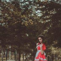 Красная шапочка :: Анастасия Каганович