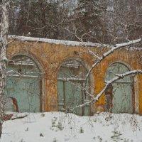 Развалины бывшего магазина.... :: игорь козельцев