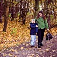 Провожая осень :: Олеся Ткач