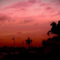 Красный закат :: Роман Володин