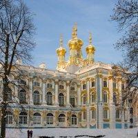 Екатерининский дворец в зимний день :: Олег Попков