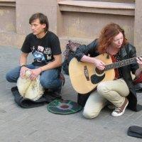 Уличные музыканты :: Олег Попков