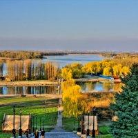 вид на Ростов из Азова :: сергей остробородов