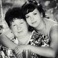 Натали с мамой :: Вероника Шапурма