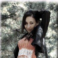 В лесу :: Анастасия Митрофанова