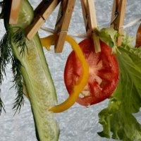 Свежесть чистых овощей :: Никита Коробейников
