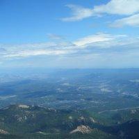 Вид с горы Pikes Peak :: Викуля Шайпак