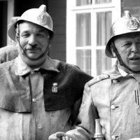 почепские пожарники :: Владимир Бурдин