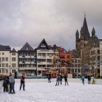 Рождественская ярмарка в Кёльне :: Максим Гусельников