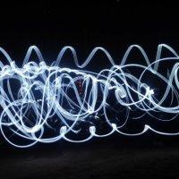 Парный танец с фонариками в руках. :: Катя Лысенко