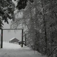 Ангарская  деревня :: Геннадий Тарасков