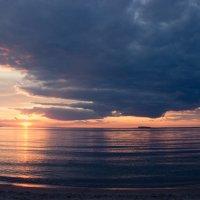 закат над Обским морем :: Мария Майданова