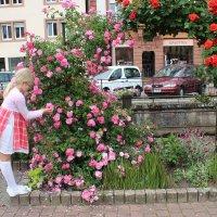 Девочка и розы :: Mariya laimite