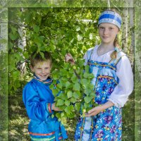 Сестрица Алёнушка и братец Иванушка :: Татьяна Титова