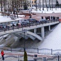 Витебск. Пушкинский мост зимой. :: Анатолий Клепешнёв