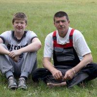 Сын и отец :: Алексей Масалов