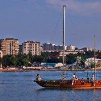 Архимед возвращается в бухту :: Валерий Дворников