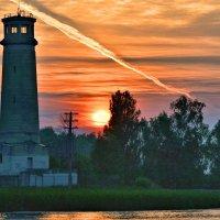 Старый маяк. :: Виктор Евстратов
