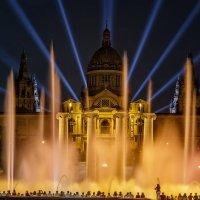 Поющие фонтаны. Барселона 2014 :: Ростислав Бычков