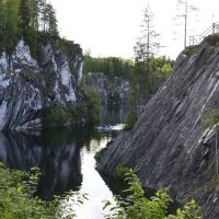 Мраморный каньон, Рускеала :: Денис Шевчук