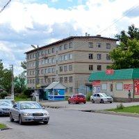 Городок на Волге. :: Анатолий