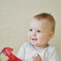 при виде мамы улыбка сменяет слезы:) :: Вера Аверьянова