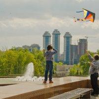Воздушный змей. :: Виктор Евстратов