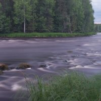 Бурная река :: Екатерина Голубкова