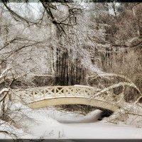 Зимний мостик :: Леонид