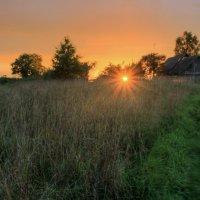 Вечер в деревне :: Сергей Григорьев